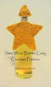Star Wine Bottle Cozy Crochet Pattern