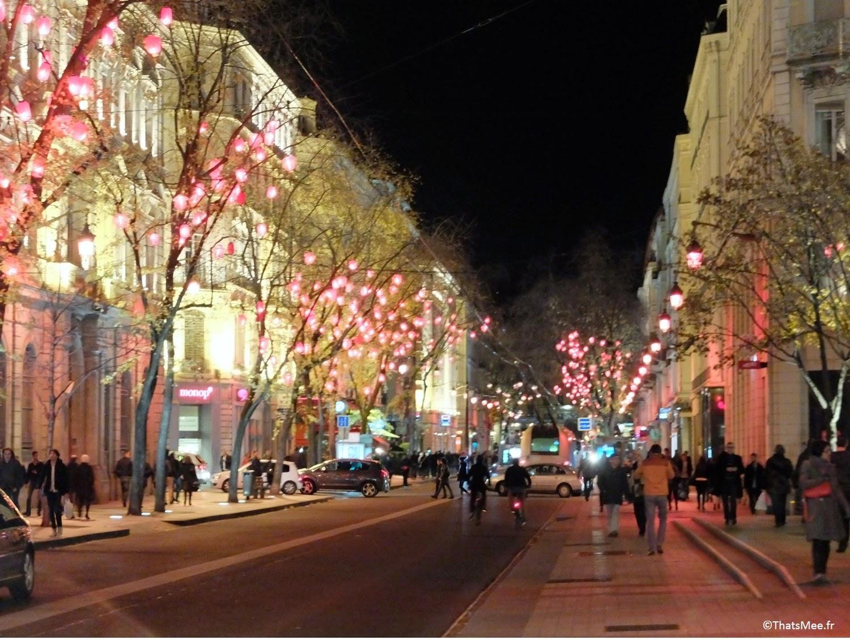 visiter Lyon Les terreaux Centre Ville déco de Noël 2014