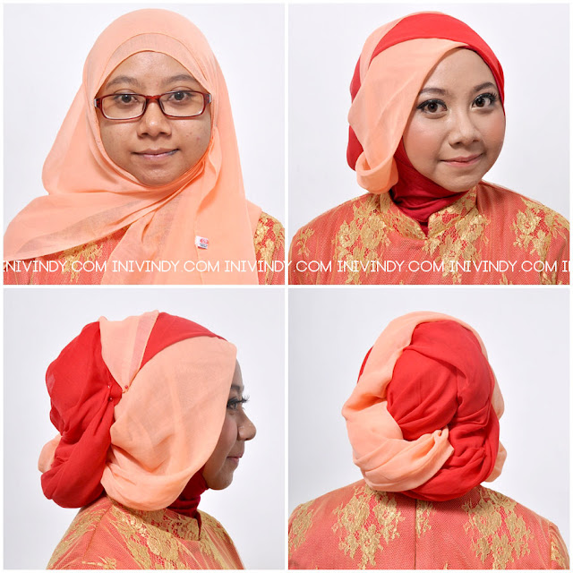 Ini Vindy Yang Ajaib Make Over Dan Hijab Style Pakai