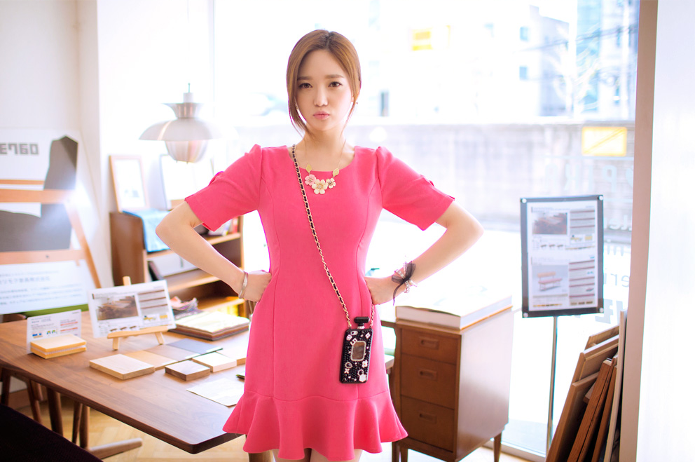 Sung Kyung Cute in Pink