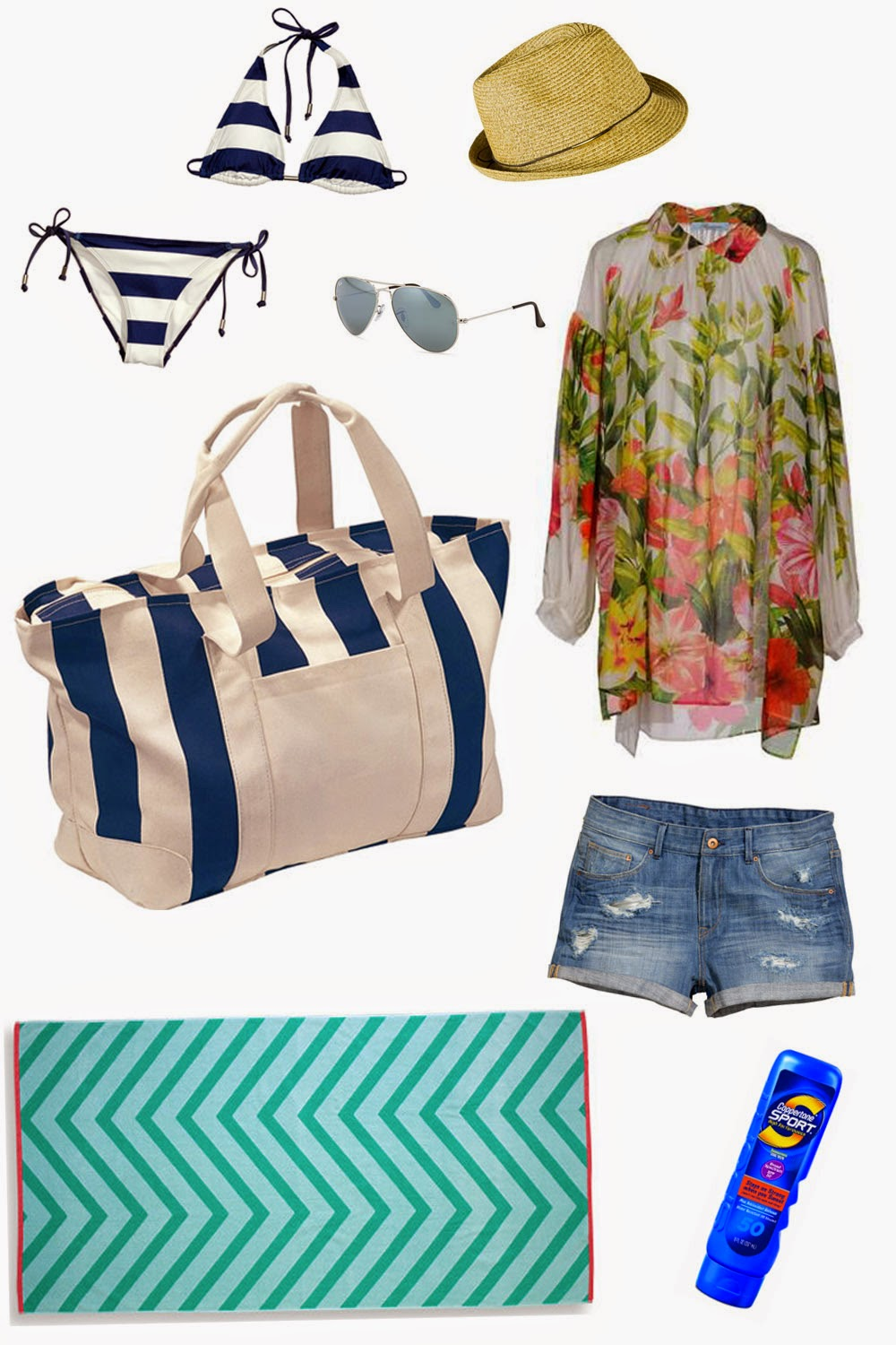 Edie's Closet, Summer Beach Bag Essentials