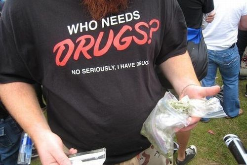 Who Needs Drugs Shirt