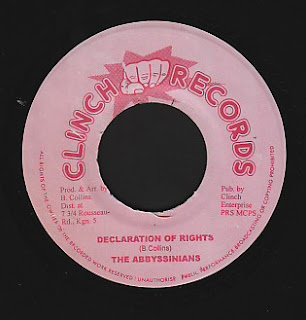 The Abyssinians - Declaration Of Rights // Sir Harry - Musical Rights