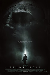 Prometheus movie poster.