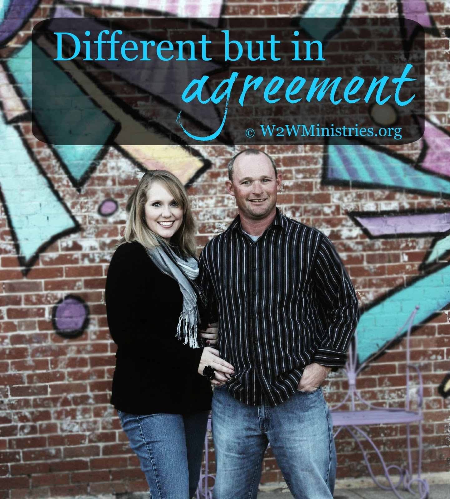 #Marriage Monday - Different but in agreement