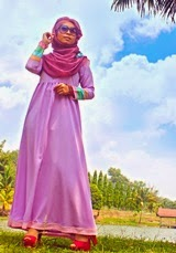 AFINA Jubah Dress
