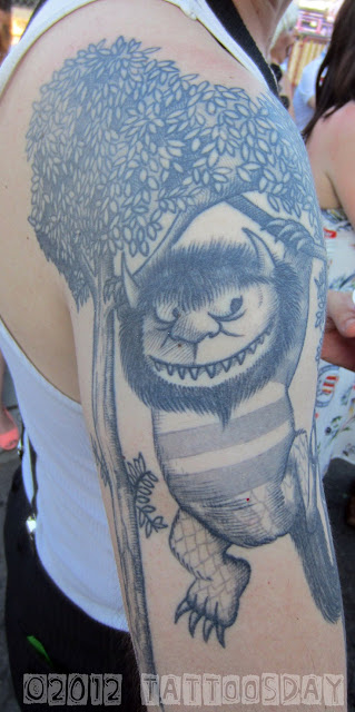 Where The Wild Things Are Max Tattoo