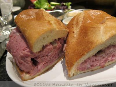 Prime Rib Roast Beef Sandwich