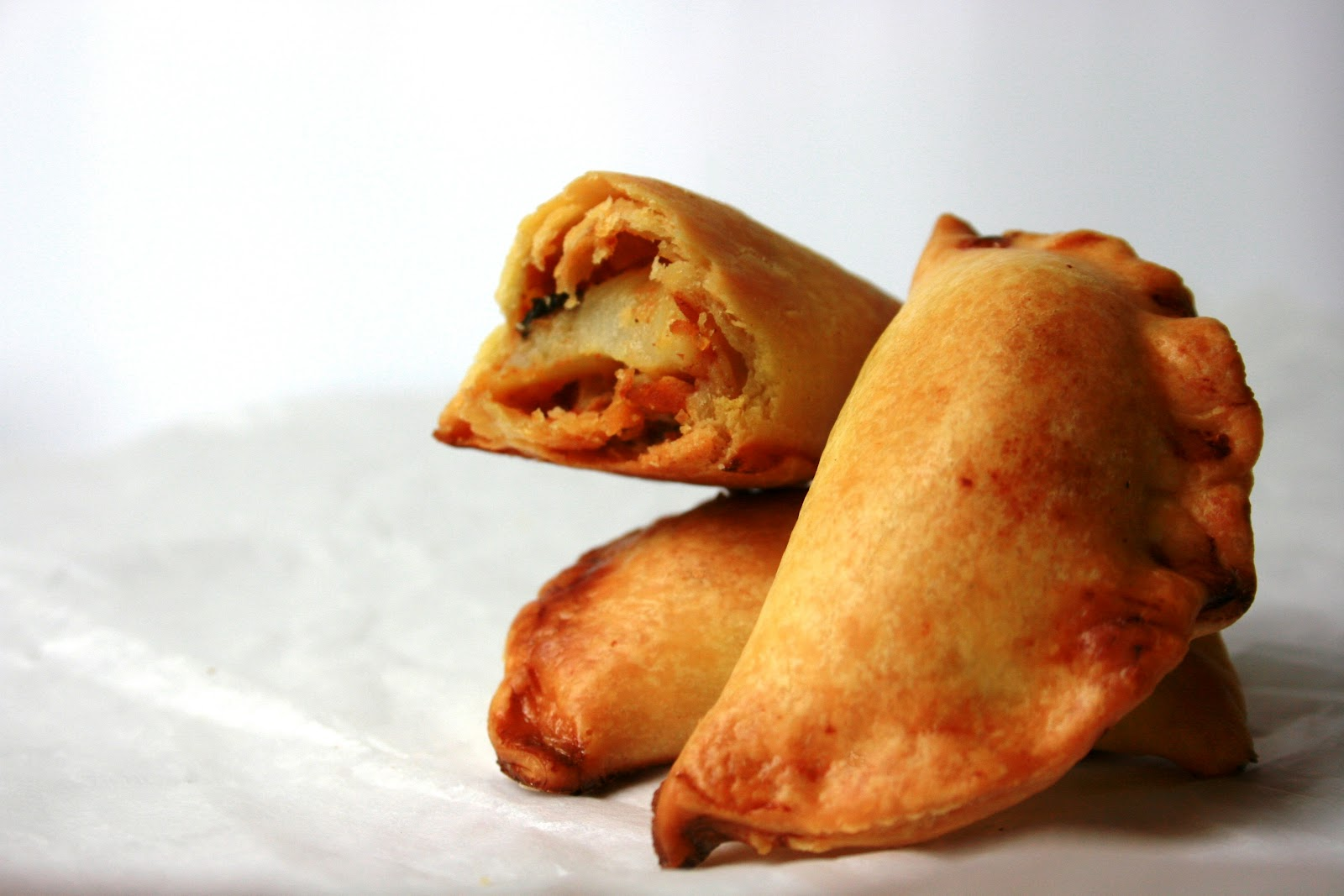 curry in 20 minutes, chicken and potato curry puffs, Baked curry puffs ...