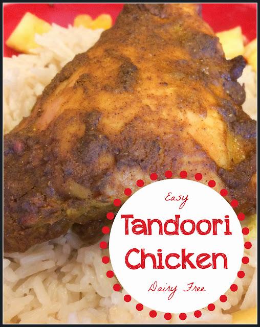East Tandoori Chicken Dairy Free Gluten Free