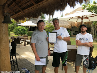 Testimonial by Karsten from the May 2015 PADI IDC in Moalboal, Philippines