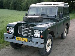 """Serie III, 88"""", 2.25 petrol, bouwjaar 1980, ex NL defensie."""