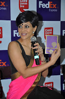 Actress Mandira Bedi Launch FedEx Rakhi Offer