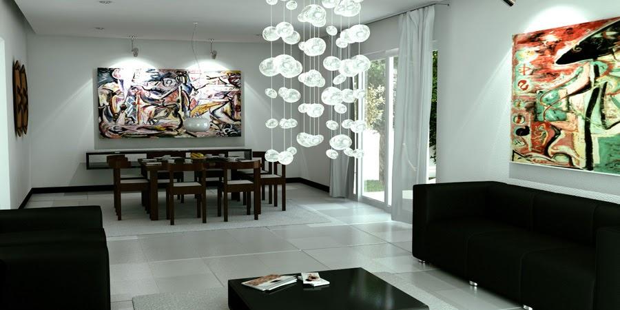 Como decorar mi casa blog de decoracion sala comedor - Comedor decoracion moderna ...