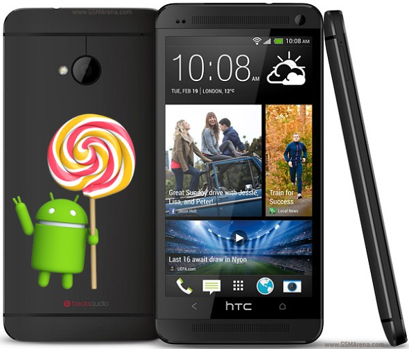 HTC One (M7) Android Lollipop update news