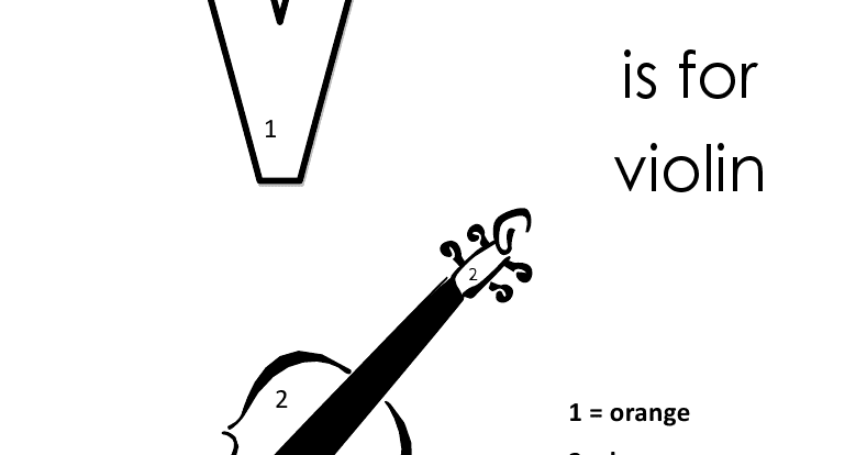 Kids Page Alphabet Letter V Lowercase Coloring Pages