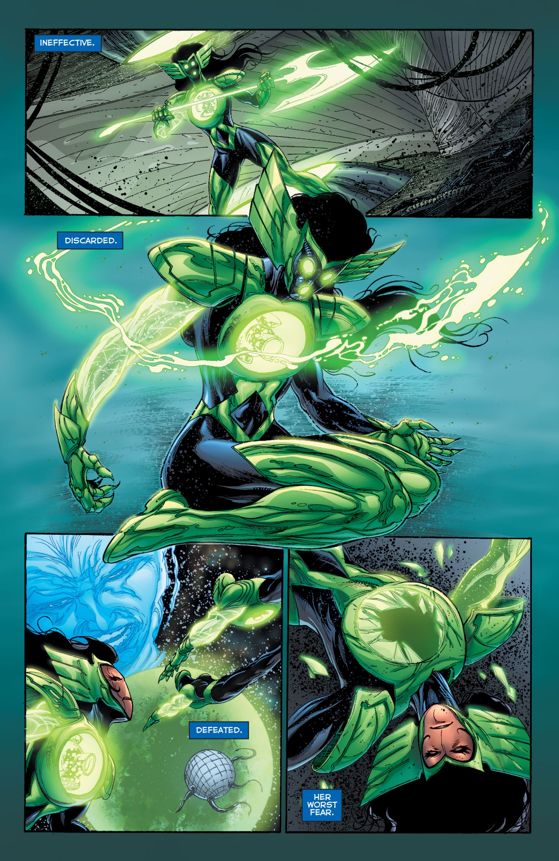 Read online Green Lantern Corps (2006) comic -  Issue #63 - 6