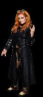 traje oficial de lucha, truza de colores diva becky, wwe roster diva Becky Lynch