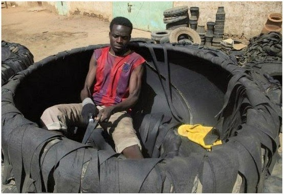 Jom Lihat Apa Orang Kenya Lakukan Dengan Tayar Terpakai