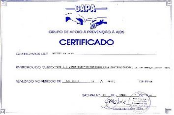 GAPA - Grupo de Apoio e Solidariedade à Aids