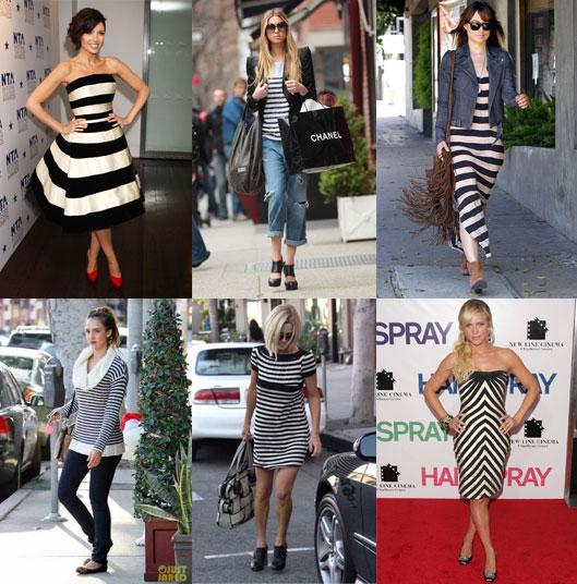 black white strip fashion - �izgili Desenler �ok Moda