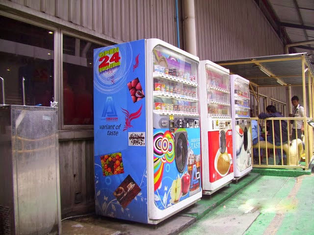 Adamo cup vending machine