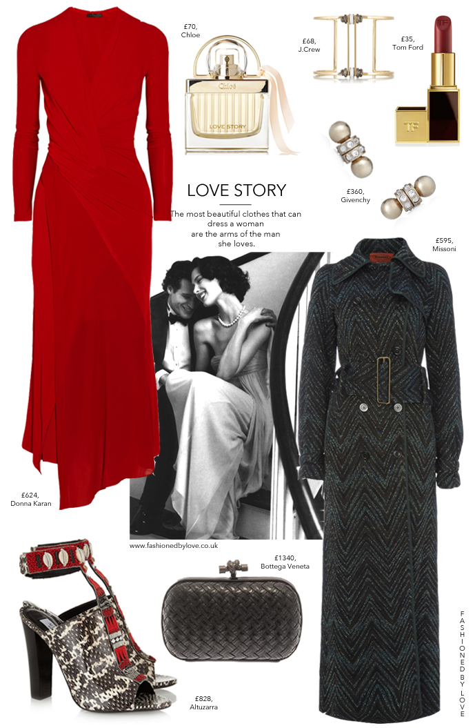 Valentine's Day outfit idea for a romantic dinner date