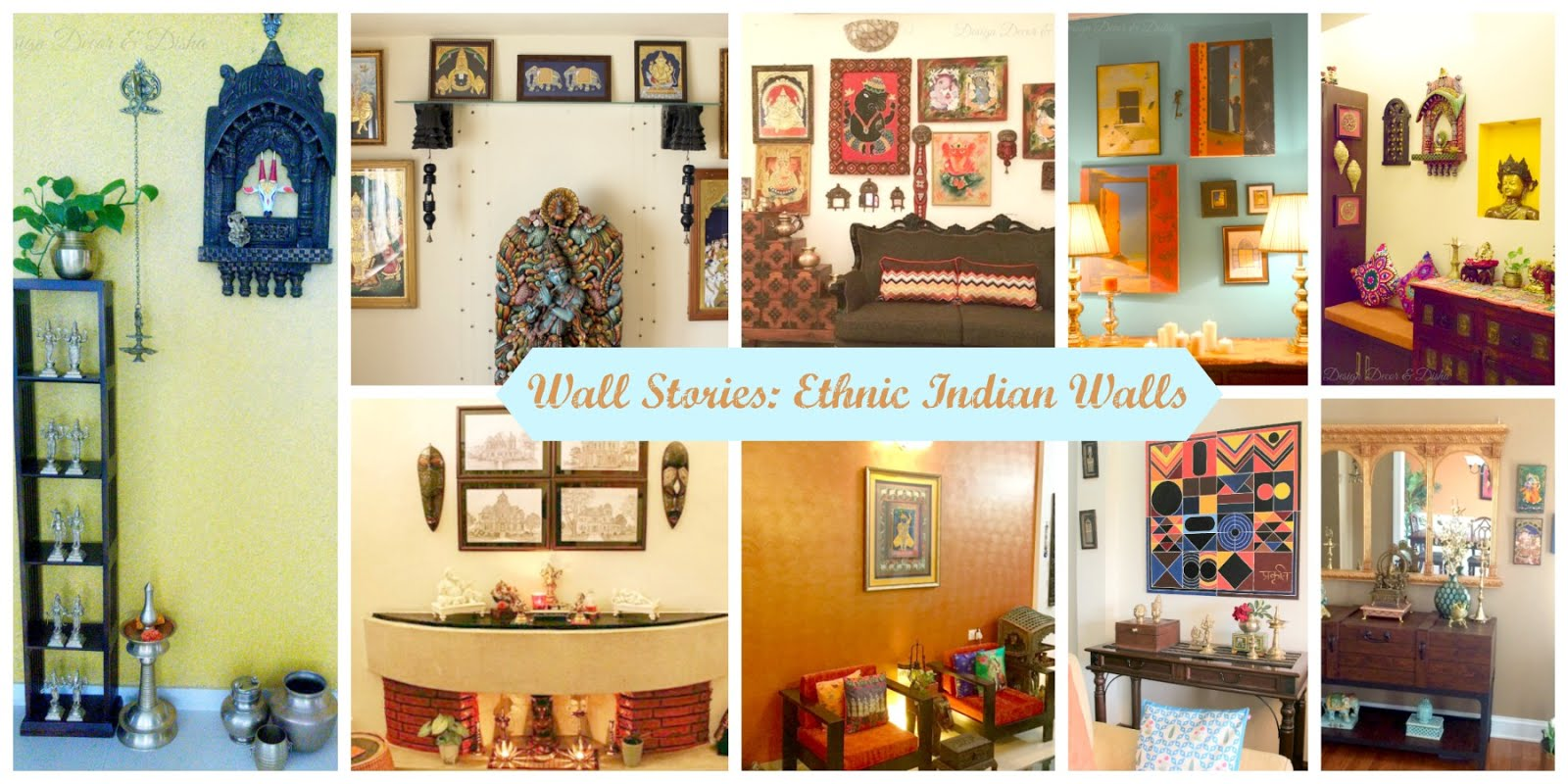 Cute Ethnic Indian Wall Decor