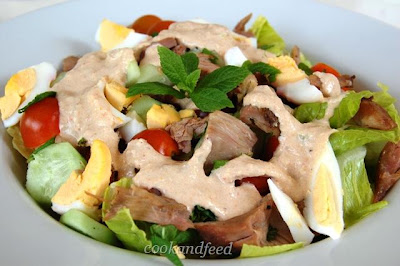 Σαλάτα με αρνί – Lamb Salad