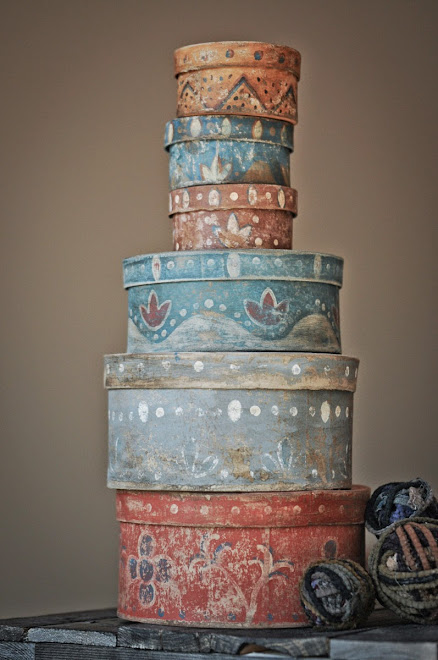 Paint Decorated Boxes