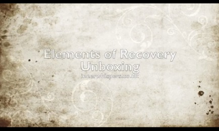 "Elements of Recovery ""unboxing"""