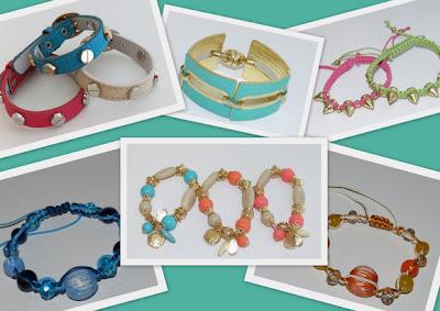acessórios coloridos moda candy color