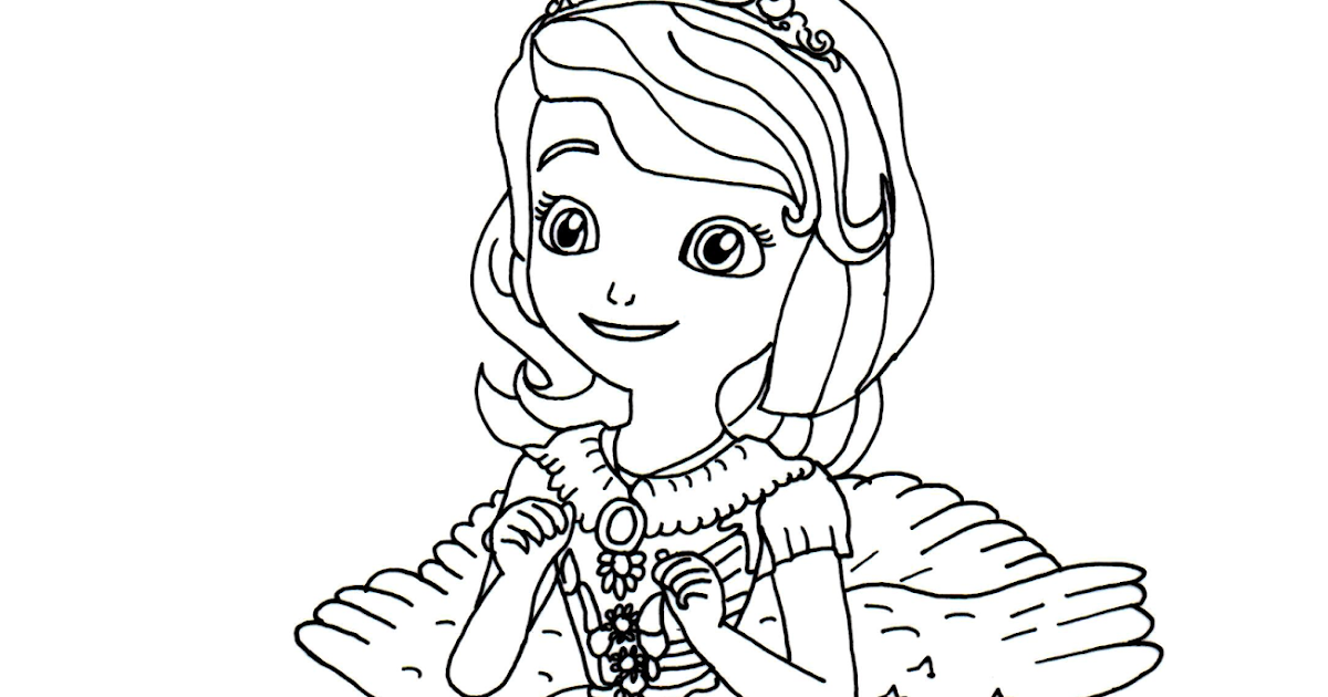 First Coloring Pages