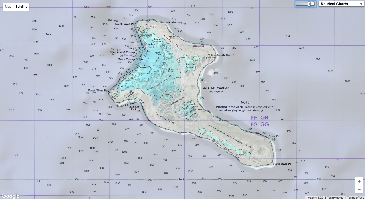 GeoGarage blog: Christmas islands
