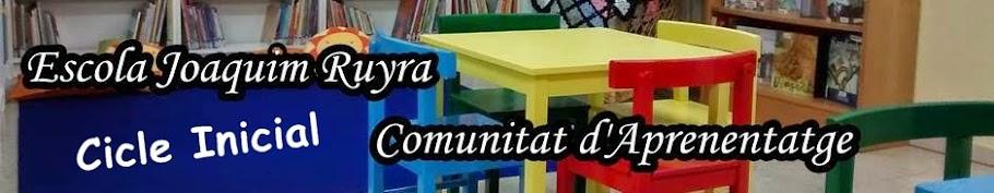 Cicle Inicial. Escola Joaquim Ruyra (L'Hospitalet de Llobregat)