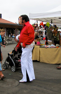 Junk in the trunk Elvis at the Orange County Elvis Festival, Orange County Fairgrounds, Costa Mesa, CA #Elvisfest #Elvis #California www.thebrighterwriter.blogspot.com