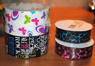Duct Tape and Ribbon