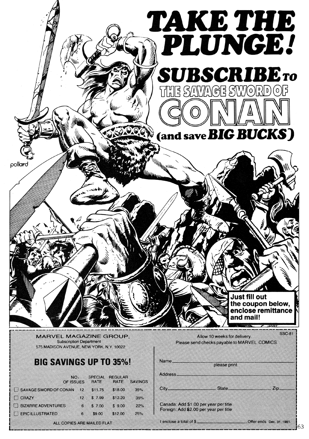 The Savage Sword Of Conan Issue #71 #72 - English 63