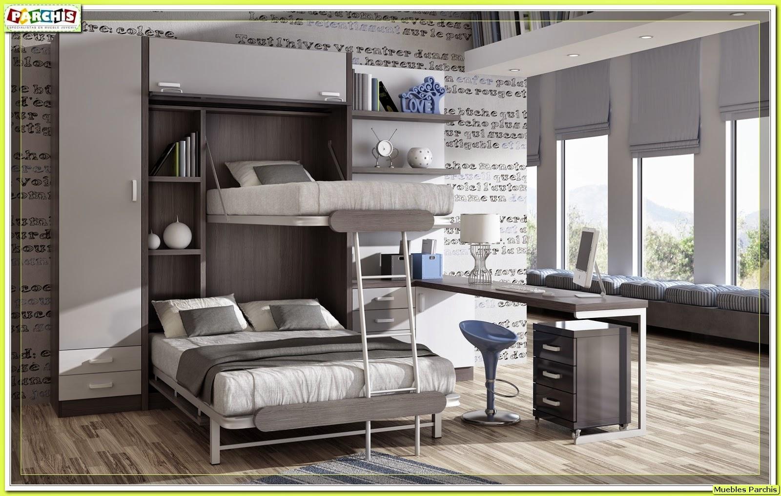 Muebles juveniles dormitorios infantiles y habitaciones juveniles en madrid muebles - Muebles modernos para habitaciones ...