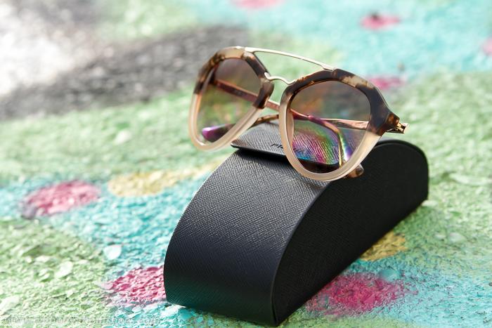 Gafas de sol de la Nueva Coleccion de Prada 2015 color marron de la optica online Solextrem