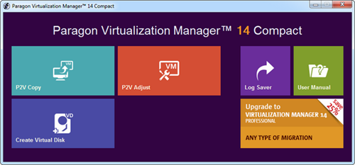 Paragon Virtualization Manager 14 Compact 10.1.21.165 Full Program İndir