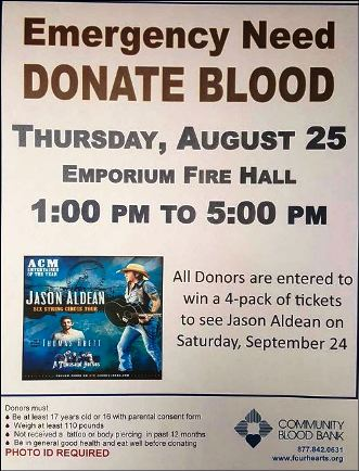 8-25 Blood Drive, Emporium