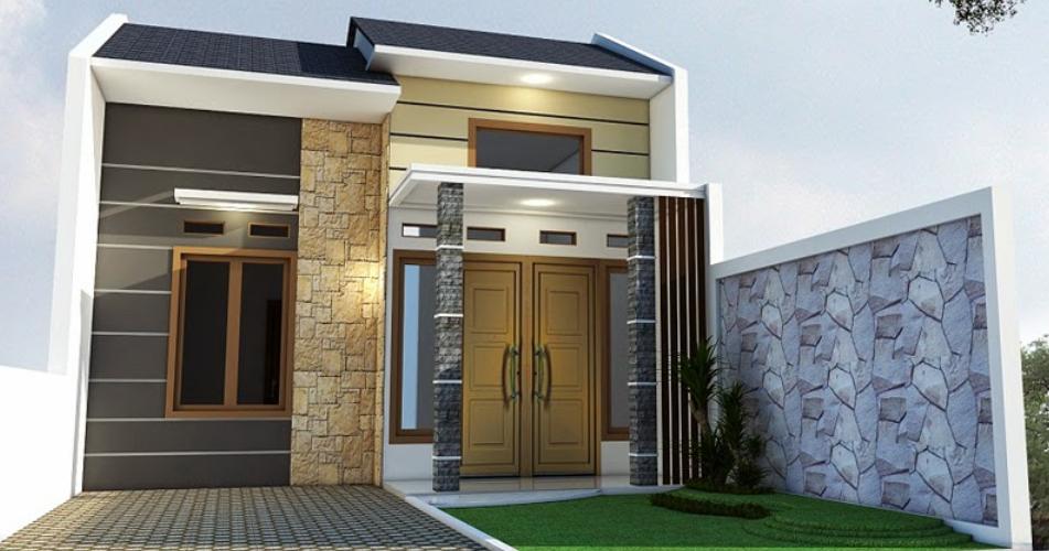 desain rumah minimalis 2 lantai type 36 60 dan 36 72