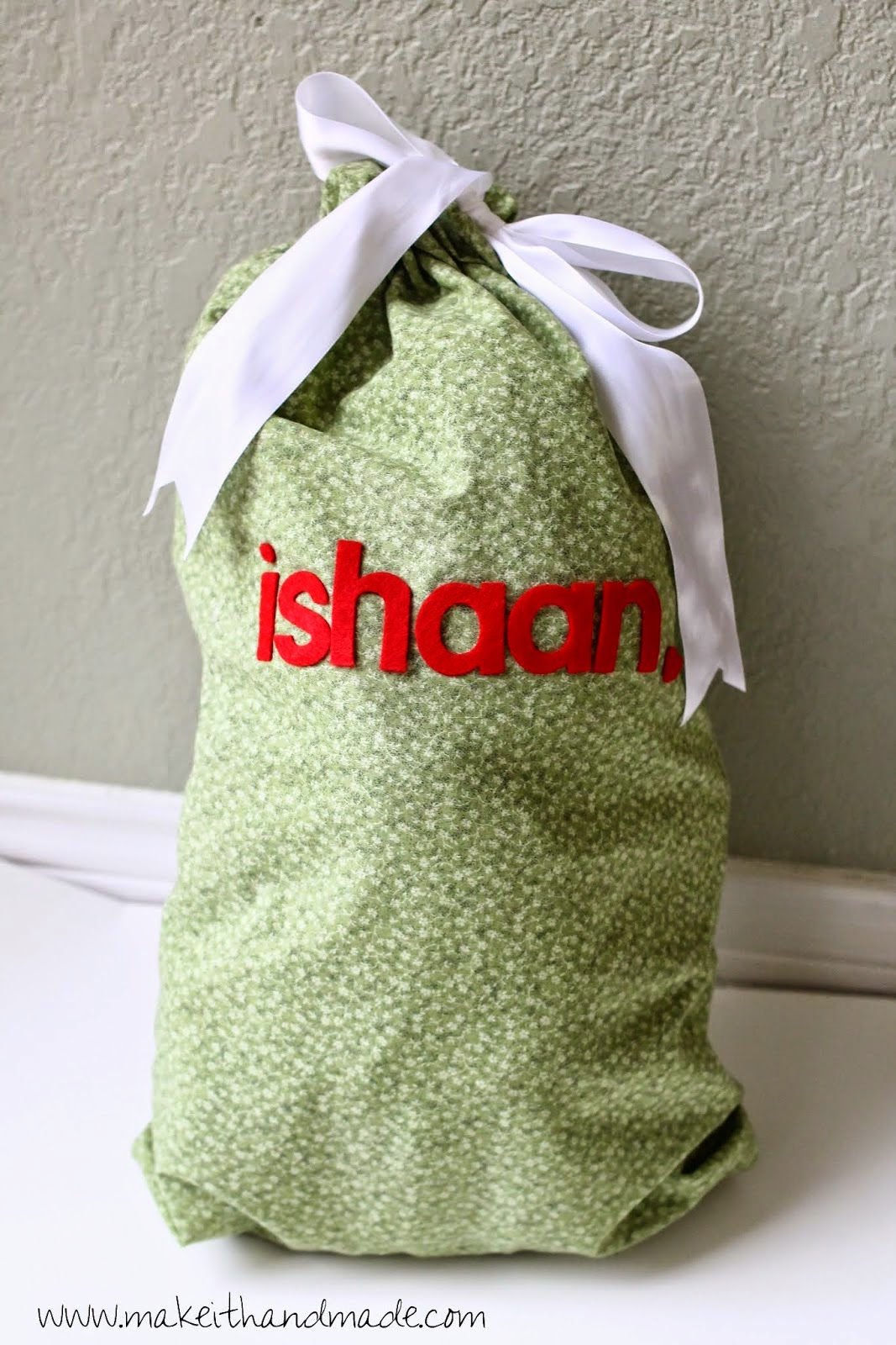 reusable gift bags sewing