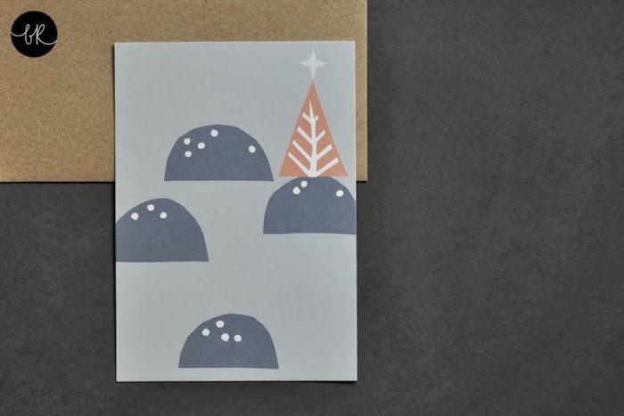 Christmas card Henrike Schoen
