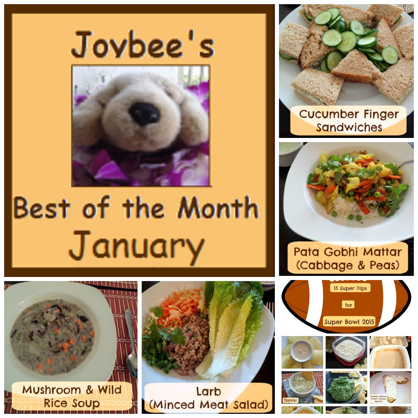 Best of the Month January 2015 | Joybee, What's for Dinner?