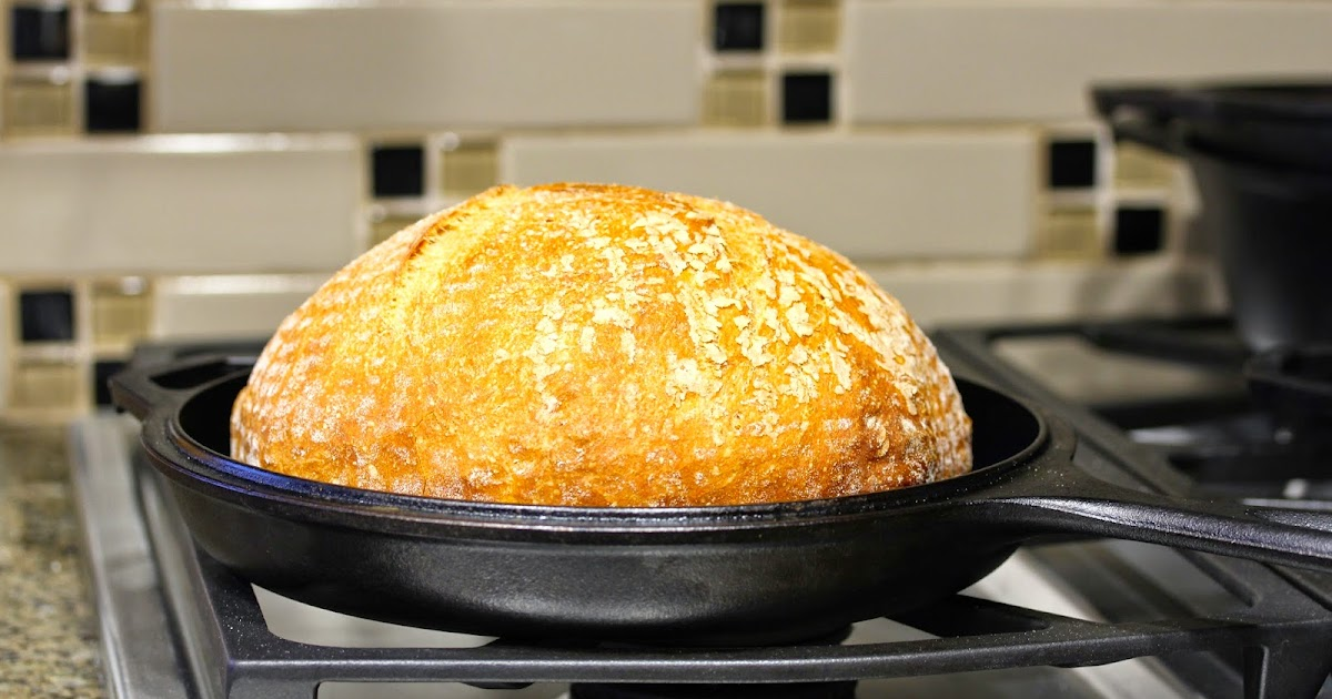 How To Transfer Bread Dough To A Hot Cast Iron Dutch Oven