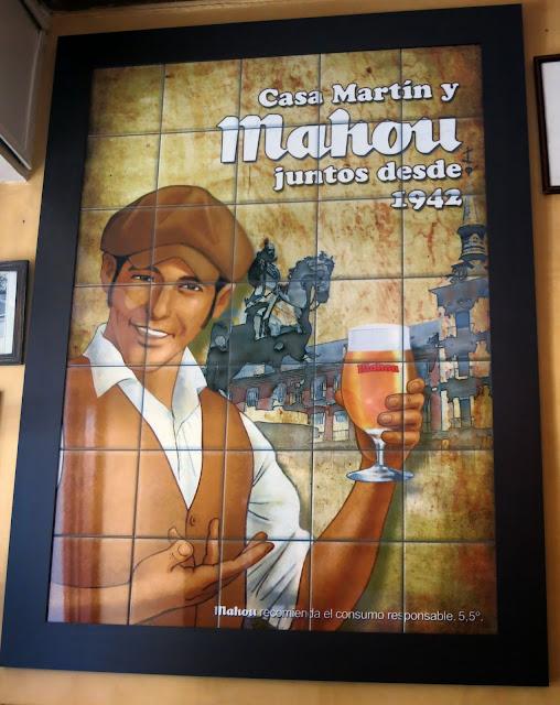 Cartel de Mahou, Bar Martín
