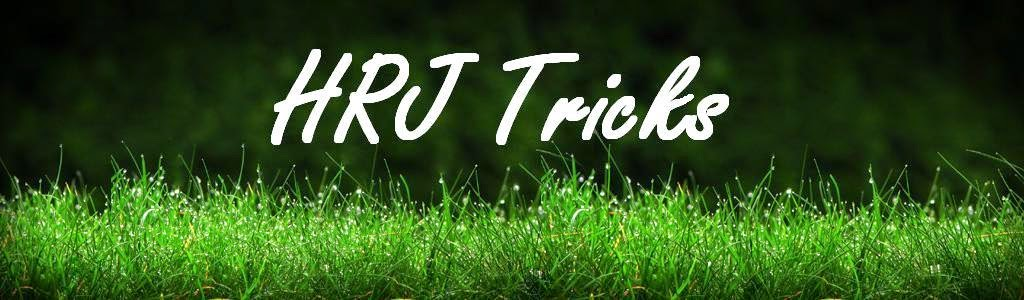 HRJ Tricks