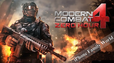 Modern Combat 4: Zero Hour v1.0.0 - iphone family world | iphone family